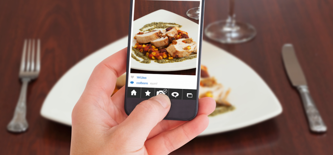 foto con lo smartphone per il tuo business
